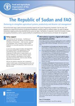 Sudan & FAO