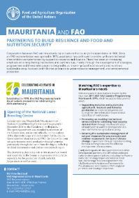 Mauritania and FAO