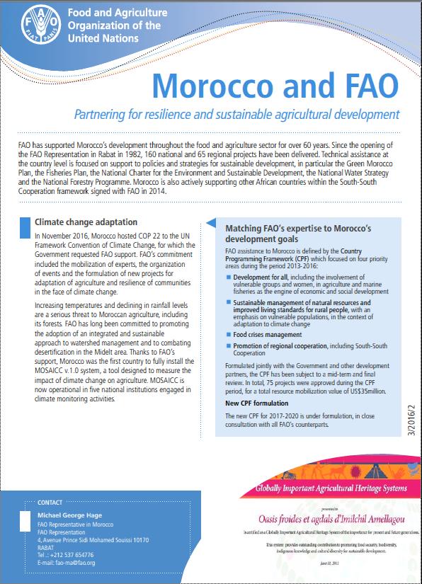 Morocco & FAO