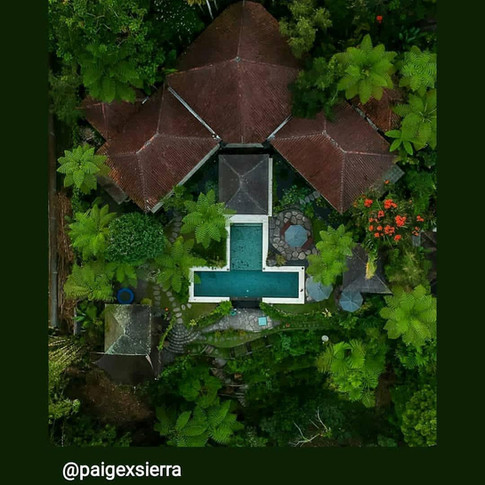 Heaven in Bali from above