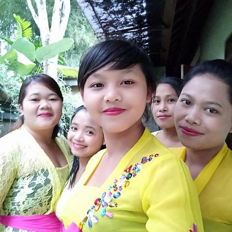 Balinese hospitality