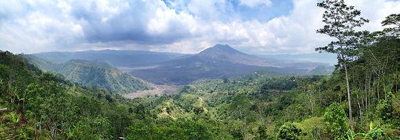 Mt Batur near Heaven in Bali