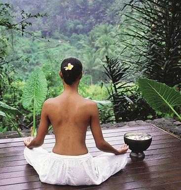 Meditation near Heaven in Bali