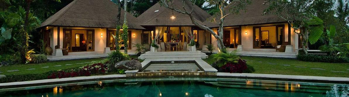 Villa Montana and pool