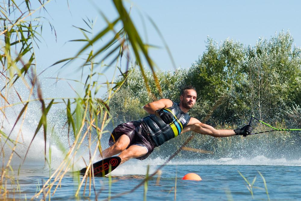 Marek Mlynek Sylvia Lake Waterski Budapest