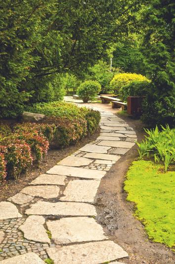 Feng-Shui- und Zen-Gärten