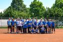 Tennisclub trainiert mit Behindertensportlern