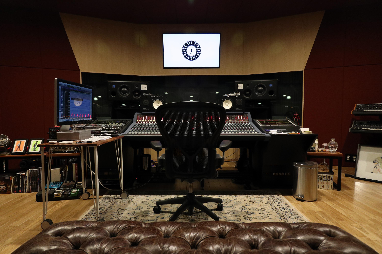 Studio A Control Room Front