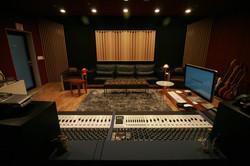 Studio A Control Room Rear View