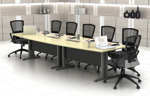 Boat Shape Conference Table TBB30