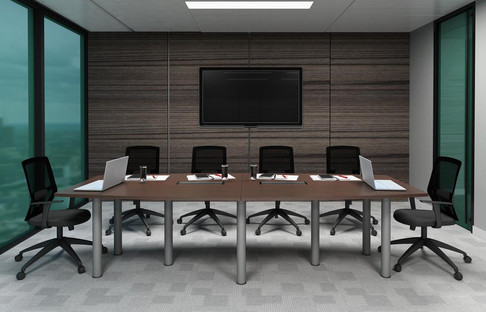 Boat Shape Conference Table QBC30