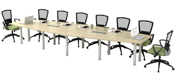 Boat Shape Conference Table BBC48