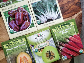 Organic Garden Seed Giveaway