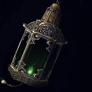 Jade lantern of shen