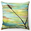 "Thumbnail: ""Wheatgrass"" Throw Pillow"