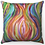 "Thumbnail: ""Colorful Pomegranate"" Throw Pillow"
