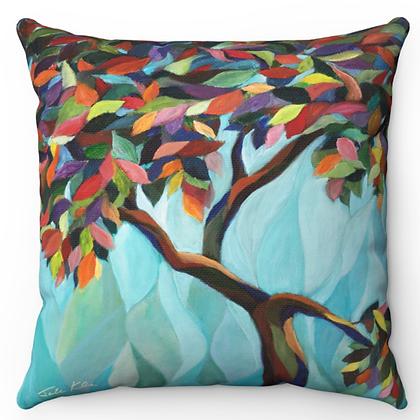 """Olive Tree"" Throw Pillow"