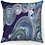 "Thumbnail: ""Pastel Waves"" Throw Pillow"