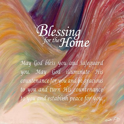 Blessing for Home in English 8