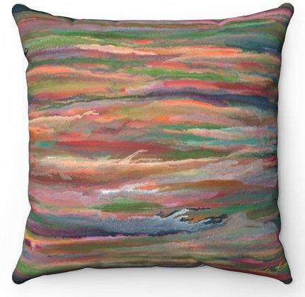 """""""Sunset at Sea"""" Throw Pillow"""