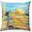 """Thumbnail: """"Golden Kotel"""" Throw Pillow"""