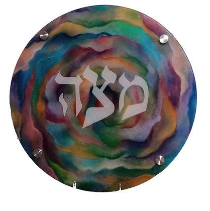 Carnation Matzah Tray
