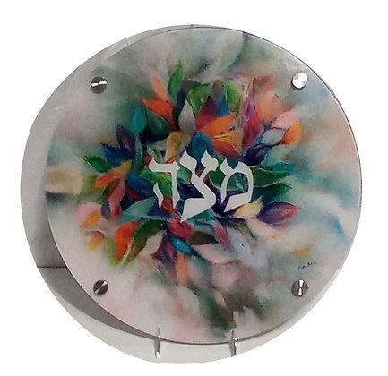 Flowers Matzah Tray