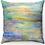 "Thumbnail: ""Mediterranean Sea Sunset"" Throw Pillow"