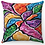 "Thumbnail: ""Flower Burst 3"" Throw Pillow"