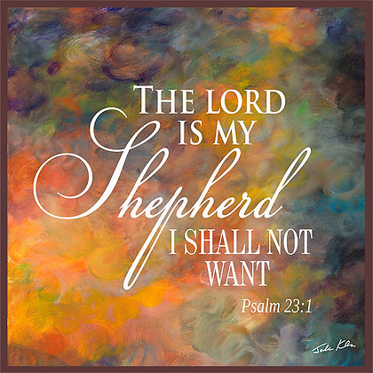 The Lord is my Shepherd 9