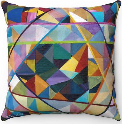 """Jewish Star"" Throw Pillow"