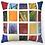 "Thumbnail: ""Flowers Collage"" Throw Pillow"