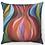 """Thumbnail: """"Elegant Pomegranate"""" Throw Pillow"""