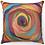 "Thumbnail: ""Colorful Carnation"" Throw Pillow"