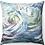 """Thumbnail: """"Waves"""" Throw Pillow"""