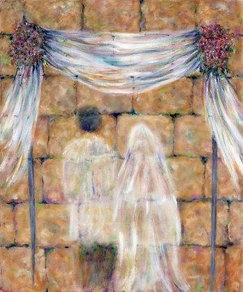 Wedding at Kotel