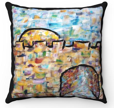 """""""Jerusalem of Joy 2"""" Throw Pillow"""