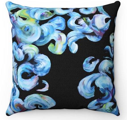 """""""Ocean Waves"""" Throw Pillow"""