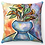 "Thumbnail: ""Calla Lilies in Vase"" Throw Pillow"