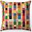 "Thumbnail: ""Colorful Seashore"" Throw Pillow"