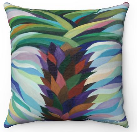 """Palm Tree"" Throw Pillow"
