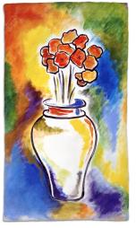 Pesach Flowers Hand Towel