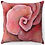 "Thumbnail: ""Rose"" Throw Pillow"