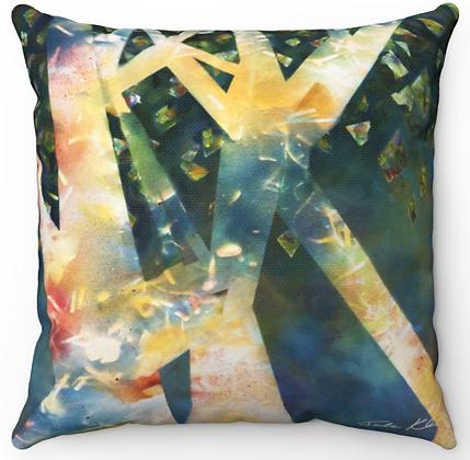 """""""Trees"""" Throw Pillow"""