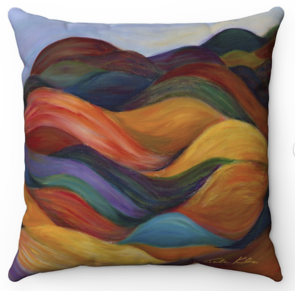 """Judean Hills"" Throw Pillow"