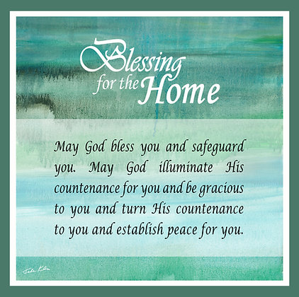 Blessing for Home in English 6