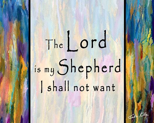 The Lord is my Shepherd 8