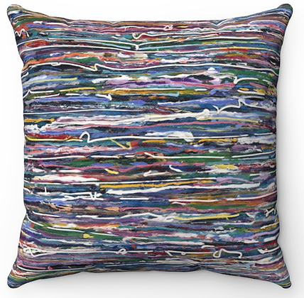 """Soothing Sea"" Throw Pillow"