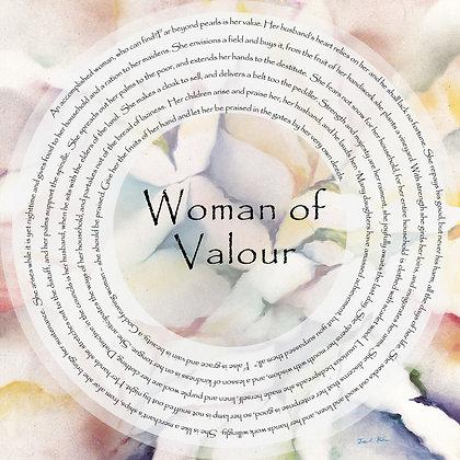Woman of Valor English 8
