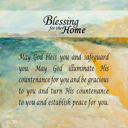 Blessing for Home in English 2